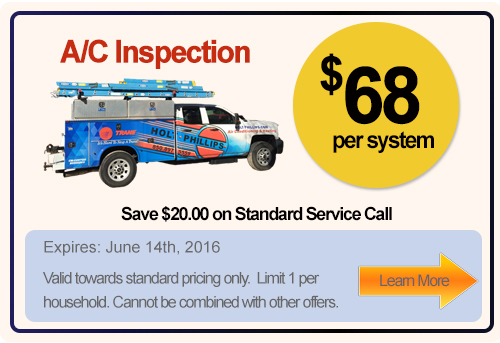 seasonal special in air conditioning maintenance